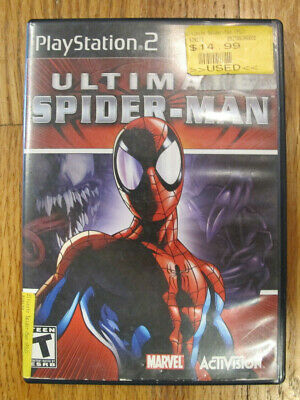 Ultimate Spider-Man (Sony PlayStation 2, 2005) PS2  - Tested - Free Shipping