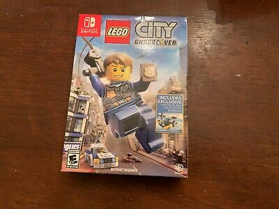 Lego City Undercover Toy Bundle Nintendo Switch Toys R Us New - See Description