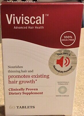 VIVISCAL Women's Hair Growth Supplement - 60 Tablets, Exp 2021+ FREE US SHIP!