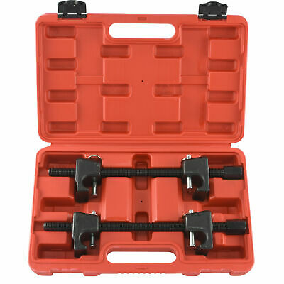 2pc Strut Spring Compressor Install Remove Coil Springs Heavy Duty Safety Pins