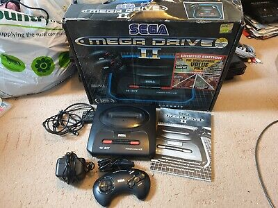 Sega Mega Drive II Console, Boxed, Tested, With Leads & Official Controller