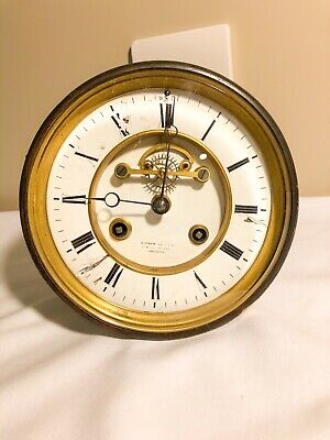 Visible Balance Escapement Clock Movement