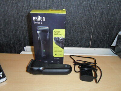 Braun Series 3 300s Mens Electric Clean Shaver Rechargeable Waterproof Razor