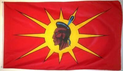 Mohawk/Oka Native Banner/Flag 100% Polyester Premium With Metal Grommets