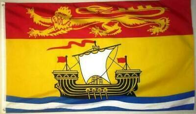 NEW BRUNSWICK 3ft x 5ft FLAG/BANNER HIGH QUALITY 100% POLYESTER METAL GROMMETS