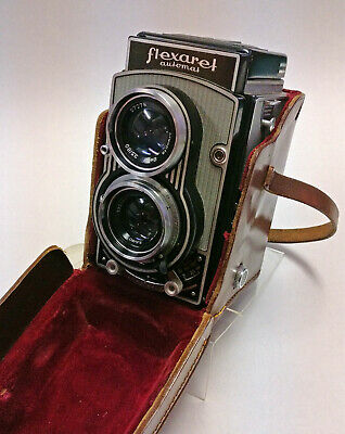 Flexaret VI TLR camera near mint CONDITION with METAX shutter