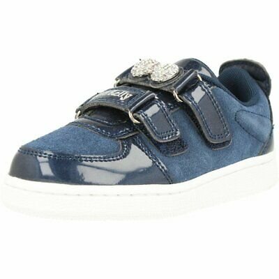 Lelli Kelly Colorissima Sneaker Blue Suede Child Trainers Shoes