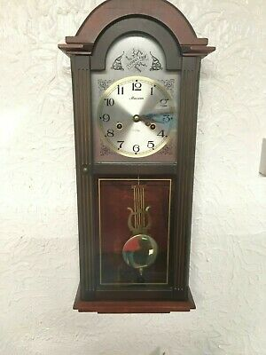 Maxim 31 days winding polaris mechanical pendulum wall clock, Vintage style