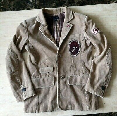 girls Stunning H&M cord flyers heritage jacket blazers age 10-12 years