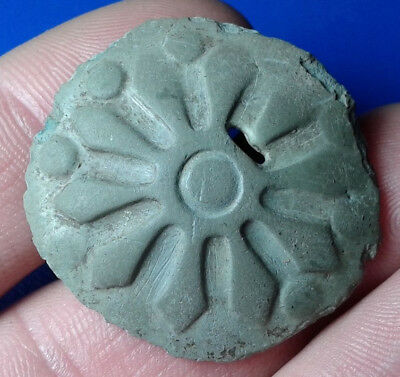 Ancient Celtic  Artifact, Ornament Sun.