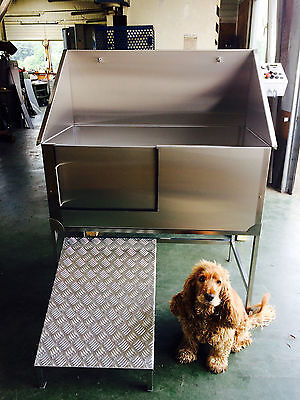 Stainless Steel Dog Grooming Bath