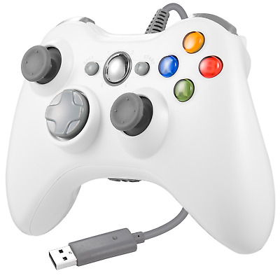 Wired USB Game Controller Gamepad Joypad Joystick for Microsoft Xbox 360 PC Win