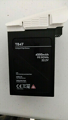 DJI Inspire 1 Battery TB47 (4500mAh) - 44 charges, good condition.