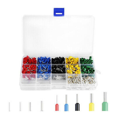 1640Pcs Copper Silver Plated Terminal Combination Set Cold Pressed Terminals MU
