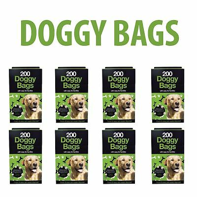 DOGGY BAGS - Scented Pet Pooper Scooper Bag Animals Poo Waste Toilet Poop