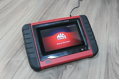 AS-IS MacTools Mentor Touch Scout MRST ET6200 Vehicle Diagnostic Tool