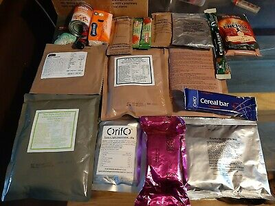 British army 24 hour ration pack