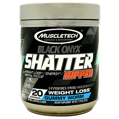 MuscleTech Shatter Black Onyx Ripped - PICK FLAVOR - FAST FREE SHIPPING!!!