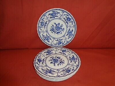 Johnson Brothers Blue & White Indies Side Plate x 6