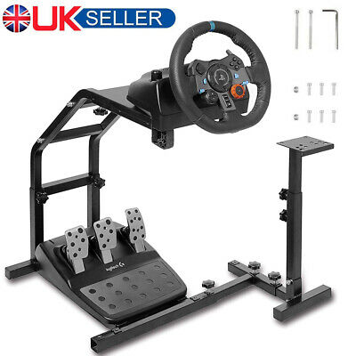 Racing Simulator Steering Wheel Stand Holder Gaming For G29 G920 T300RS T80 UK