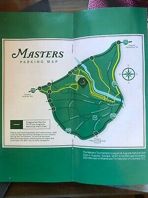 2 2020 Masters Golf @ Augusta National GC Monday April 6 Practice Round Tickets
