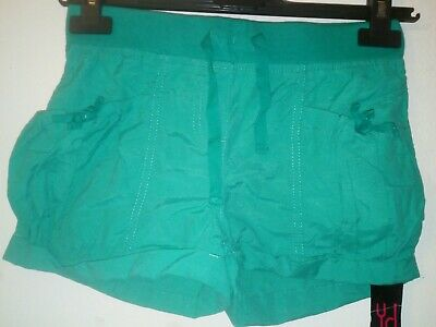 Bnwt Primark Young Dimension Girls Green Shorts Size 11-12 Years 152cm