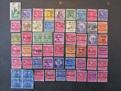 United States, Pennslyvania State Precancel Collection