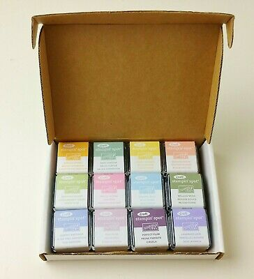 Stampin' Up PASTEL SOFT SUBTLES Craft Stampin' Spots Ink Spot Lot of 12 SEALED