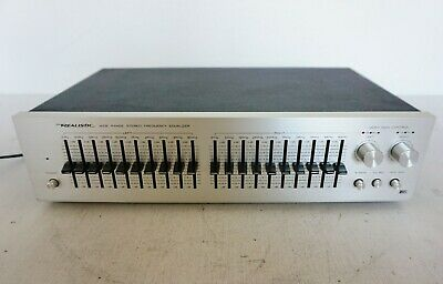 Vintage Realistic 31-2000A Wide Range Stereo Frequency  Equalizer