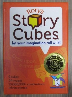 BNIB Rory's Story Cubes Gamewright Board Game Dice Roll