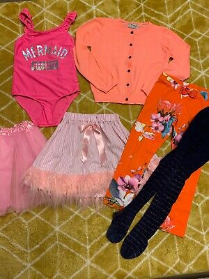 Next Ted Baker Primark Girls Clothes Bundle Size 5-6 Years
