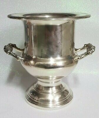 RODD Genuine Silver Plated Wine/Champagne Urn/Bucket with Handles