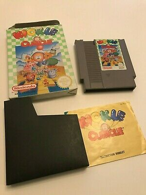 Nintendo Entertainment System NES KICKLE CUBICLE Video Game Boxed