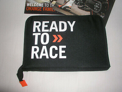 "Motorrad Mappe Tasche KTM ""ready to race"" PowerWear Kollektion Aktentasche"