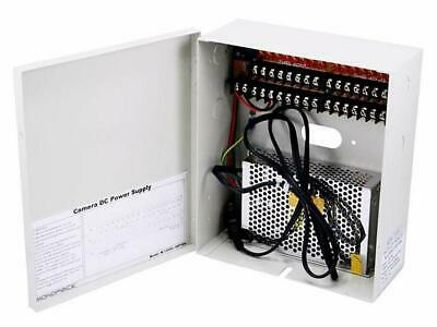 SEALED!!! Monoprice 16 Channel CCTV Camera Power Supply - 12VDC - 10Amps