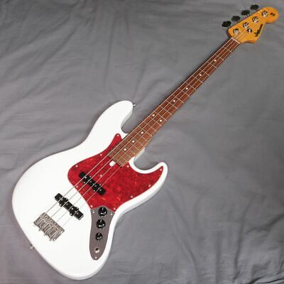 Used MOON 40th Anniversary JB-4MB Snow White 2018 Electric Bass Guitar