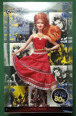 Barbie Collector Cyndi Lauper Doll Mattel Ladies of the 80s