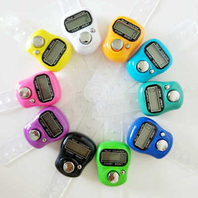 CHEAPEST!! Digital  Finger Ring Tally Counter Hand  Row counter TASBEEH - DHIKR