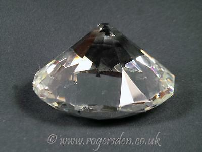 Crystal Glass  Diamond Shape Paperweight