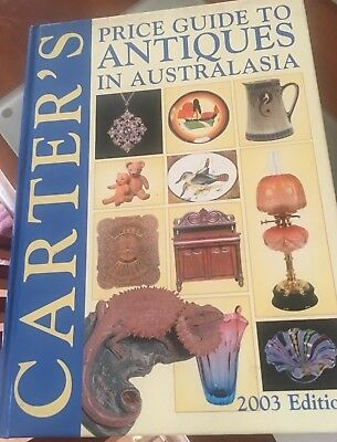 Carter's price guide to Antiques in Australasia 2003/2004/2005 hardcover books