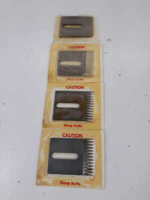 3M Simmons Knives, 70-8601-0016-6 lot of 4