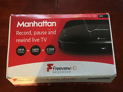 Manhattan T2-R Freeview HD 500GB Recorder 300 Hours Recording