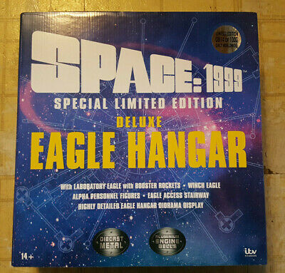 "Sixteen 12 Space 1999 Moonbase Alpha 12"" Eagle Hangar Set Ultra Deluxe 189SI05"