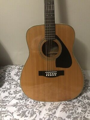 YAMAHA FG-420-12A 12 STRING ACOUSTIC GUITAR, good condition