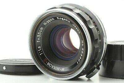 【 MINT+++ 】 Nikon W NIKKOR C 35mm 3.5cm f/1.8 Lens For S Mount S2 S3 From JAPAN