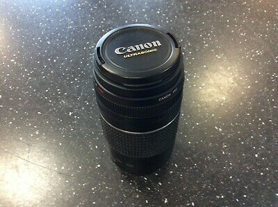 Canon EF 75-300 mm F/4.0-5.6 III Lens Good Used Condition