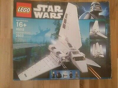 Lego Star Wars UCS Imperial Shuttle (10212) - 100% Complete with figures