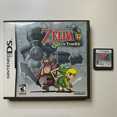 the legend of zelda: spirit tracks for nintendo ds AUTHENTIC NO MANUAL