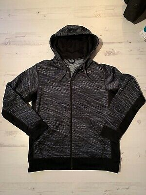 NIKE THERMA-FIT, Mens Size M, Black , Running Hoody,*VGC*