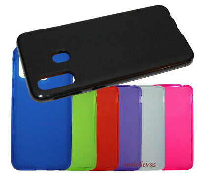 Funda para SAMSUNG GALAXY A40 Gel lisa Carcasa mate Colores Elige color